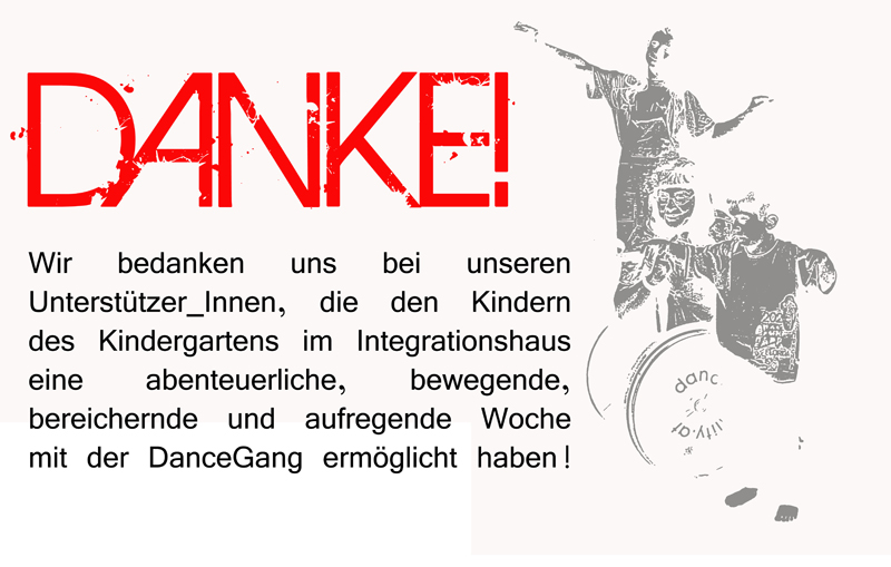 Thank you - the kids of the Vienna Integrationskindergarten